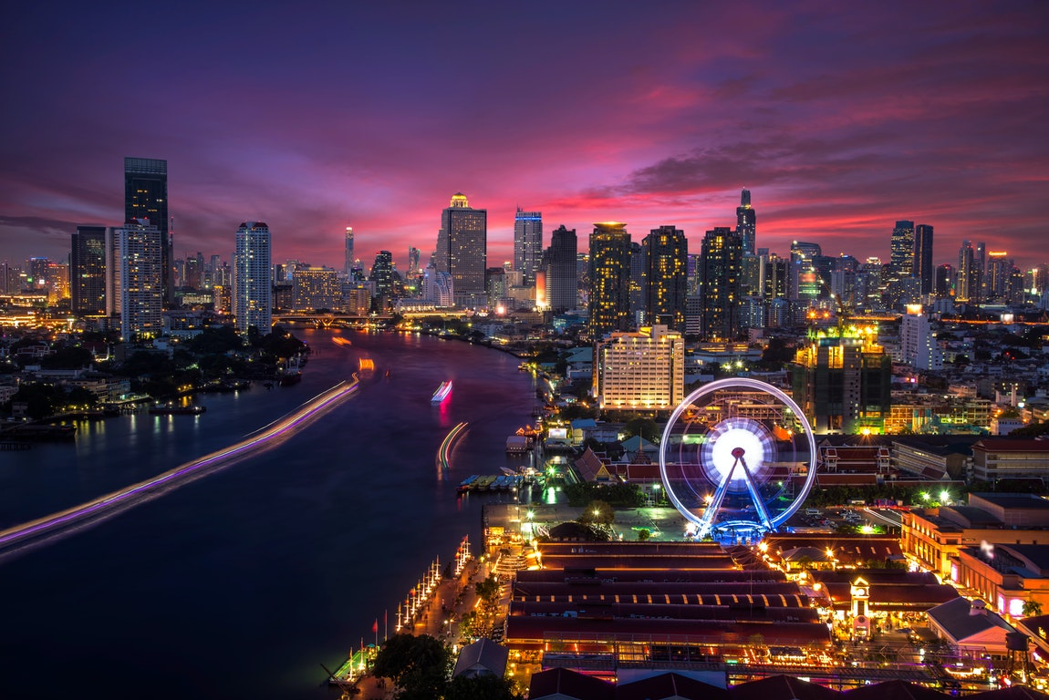 Asiatique The Riverfront in Bangkok poi Thailand Holiday