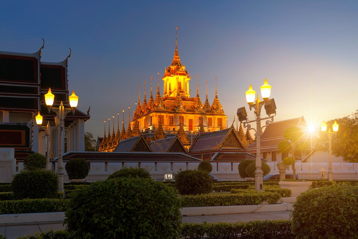 Loha Prasat Temple poi Thailand Holiday