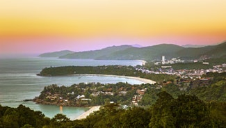 Holiday in Karon viewpoint poi in Thailand