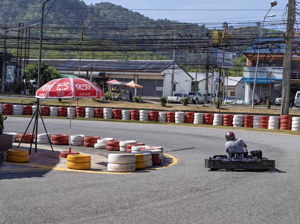 Patong Go-Kart Speedway activity Thailand Holiday