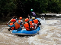 Holiday in Rafting Phuket activity in Thailand