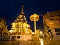 Holiday in Chiang mai city in Thailand
