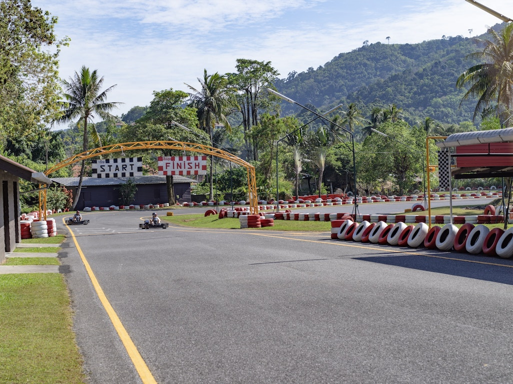 Patong Go-Kart Speedway  Thailand Holiday