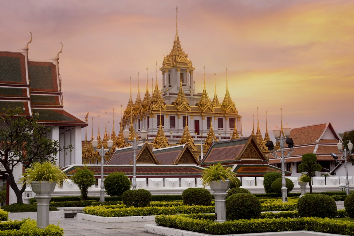 Loha Prasat Temple  Thailand Holiday