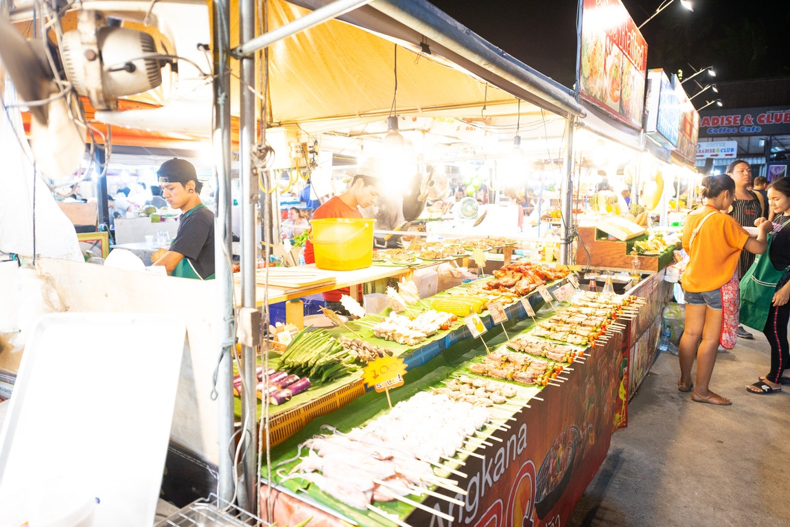 Naka Weekend Market  Thailand Holiday
