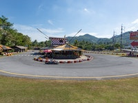 Holiday in Patong Go-Kart Speedway activity in Thailand