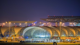 Holiday in Bangkok Suvarnabhumi Airport, the best experience any airport in the world has to offer poi in Thailand