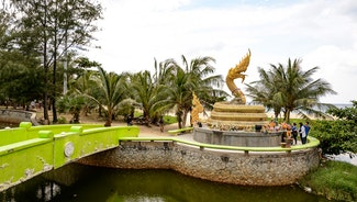 Holiday in Karon Dragon Image poi in Thailand