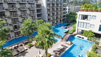 Holiday in Baan Laimai Beach Resort Patong hotel in Thailand