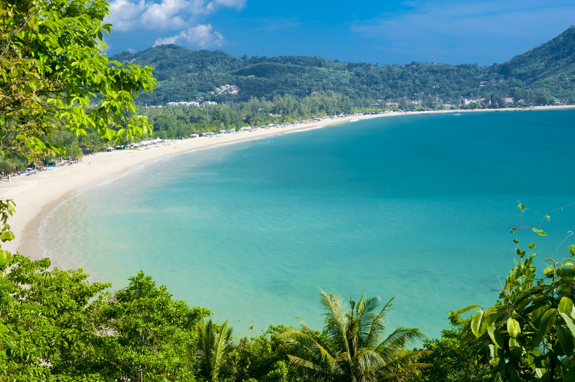 Paradise Beach poi Thailand Holiday