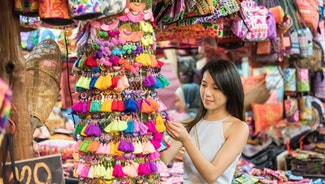 Holiday in Chatuchak Market in Bangkok poi in Thailand