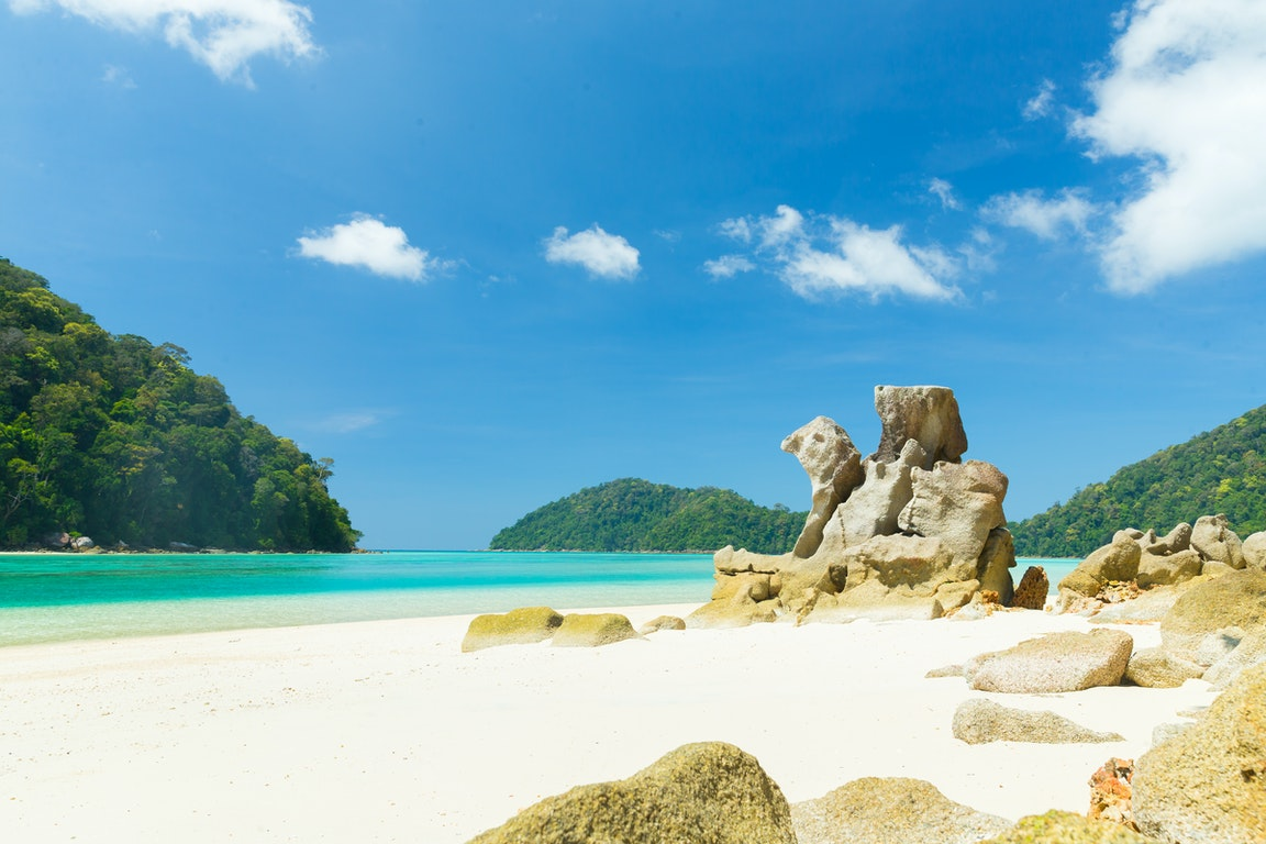 Surin Beach poi Thailand Holiday