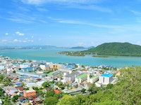 Holiday in Songkhla city in Thailand