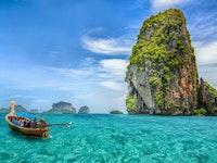 Holiday in Phuket island in Thailand