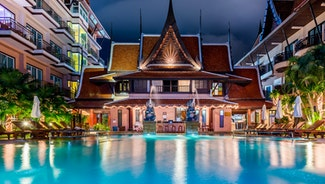 Holiday in Nipa Resort hotel in Thailand
