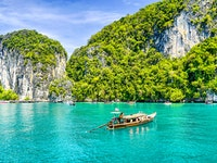 Holiday in Ko Phi Phi Don island in Thailand